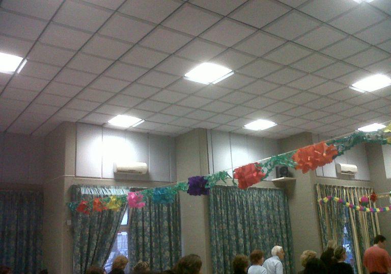 insonorizzazione centro anziani